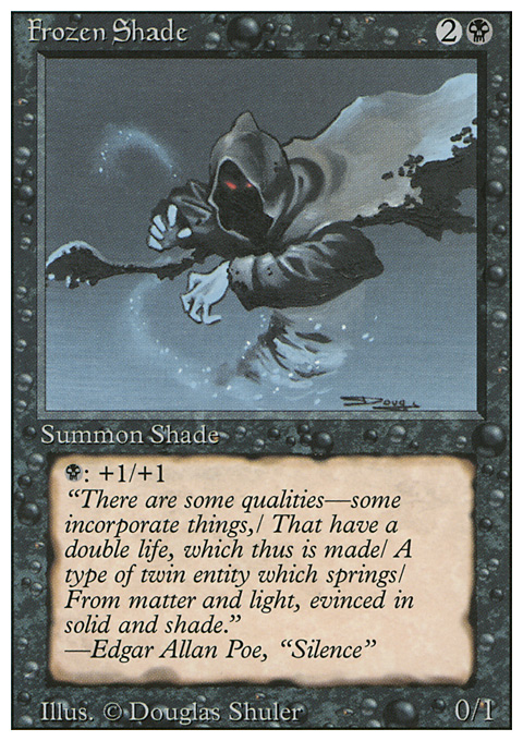 Frozen Shade card from Revised Edition