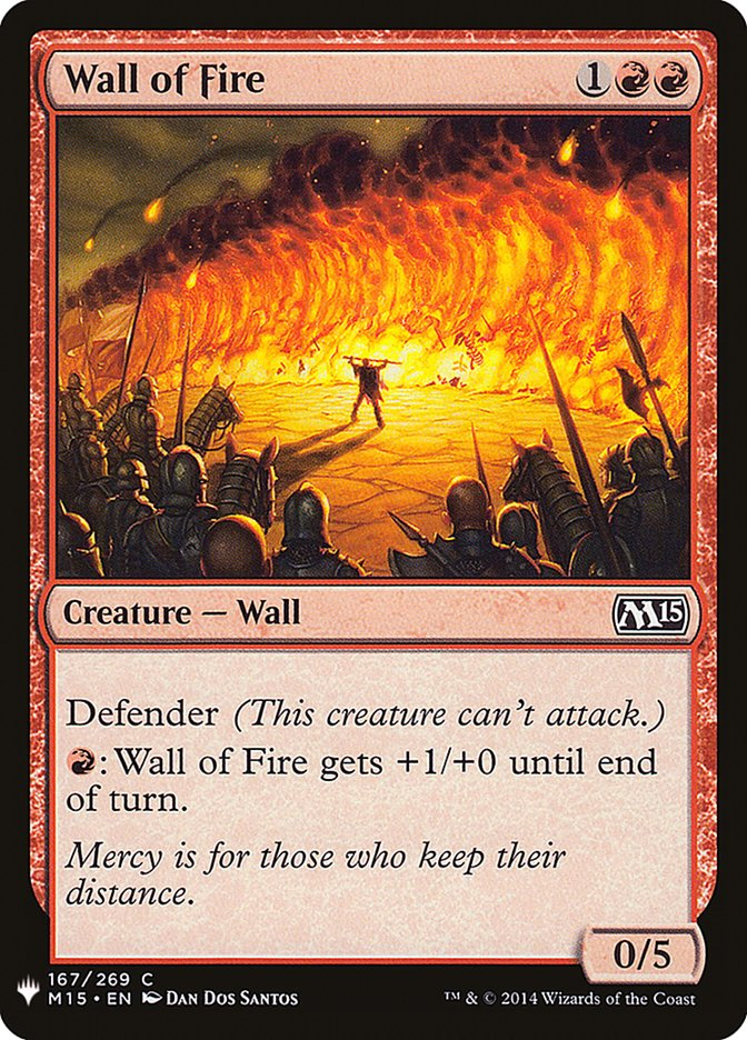 Wall of Fire