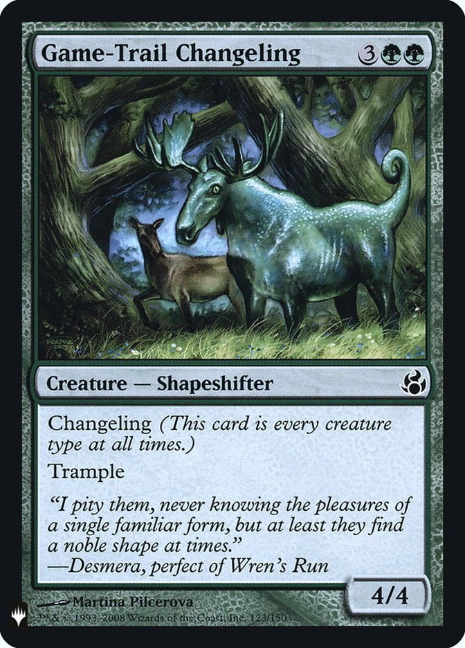 Game-Trail Changeling