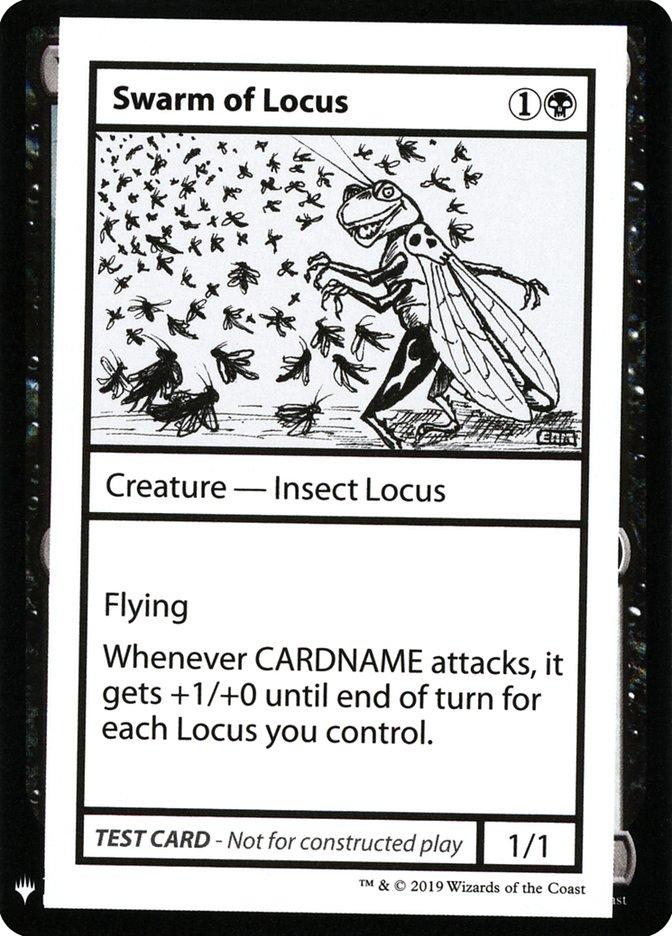 Swarm of Locus