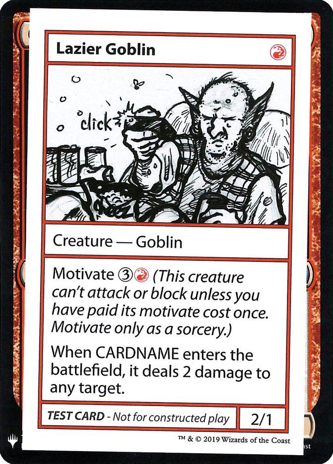 Lazier Goblin