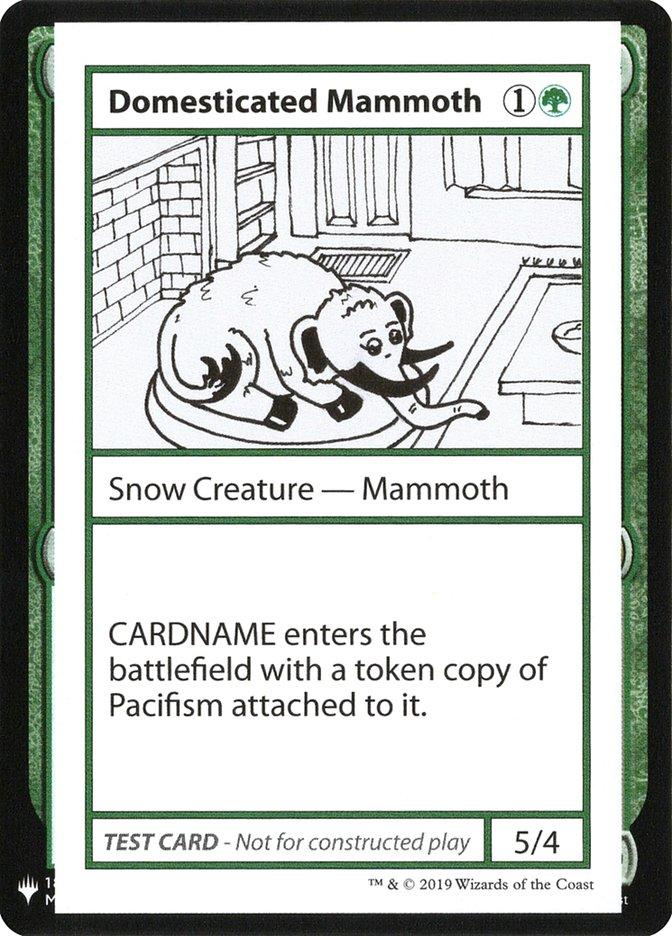 Domesticated Mammoth