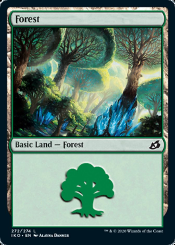 Forest card from Ikoria: Lair of Behemoths