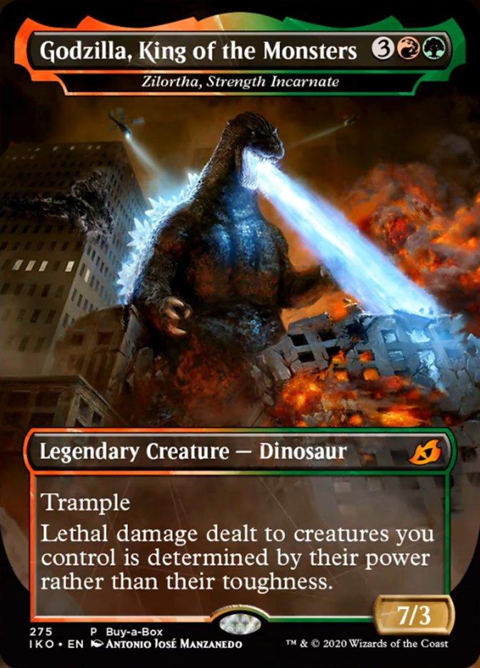Godzilla, King of the Monsters - Zilortha, Strength Incarnate