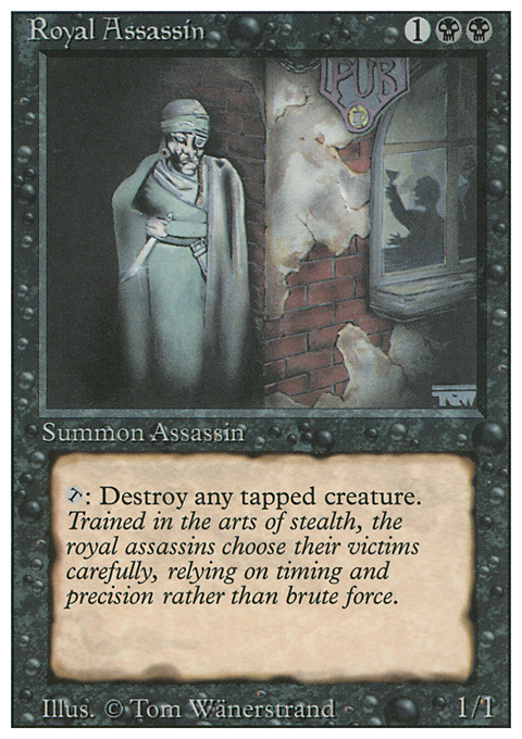 Royal Assassin card from Revised Edition