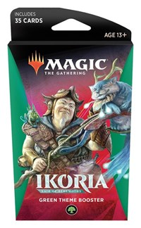 Ikoria: Lair of Behemoths - Theme Booster [Green]