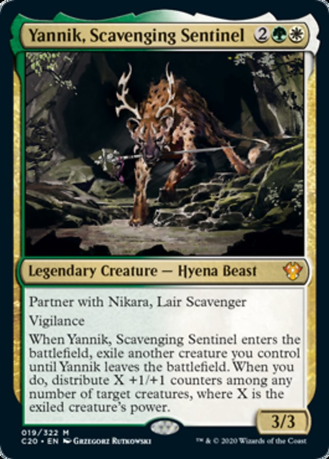 Yannik, Scavenging Sentinel