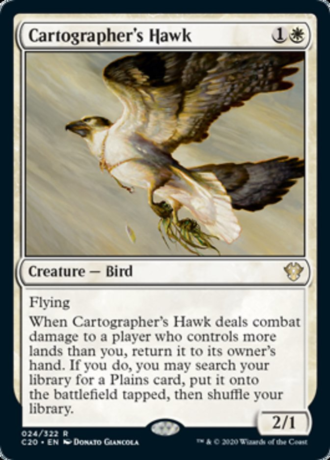 Cartographer's Hawk