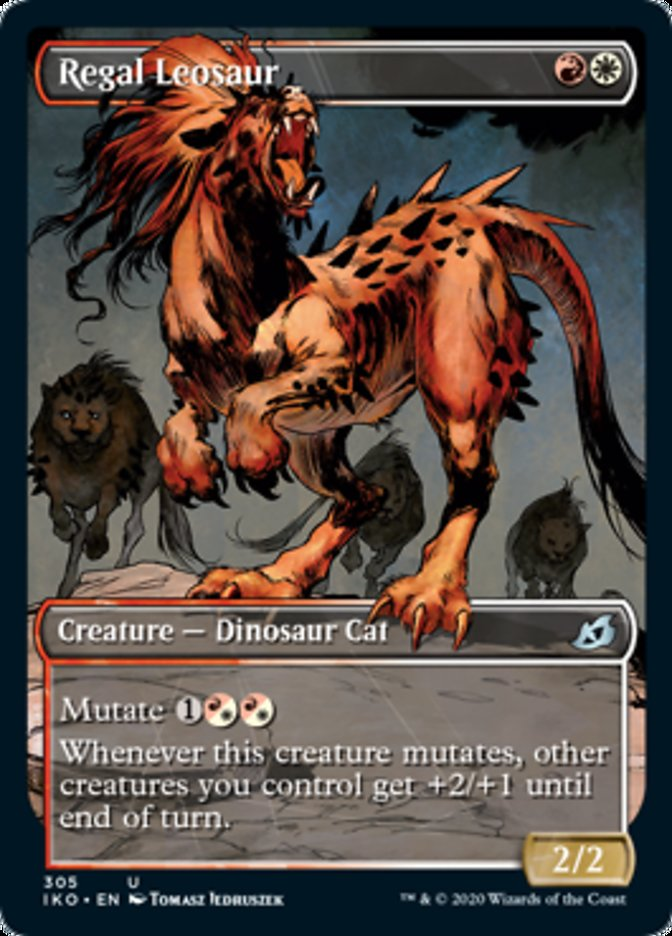 Regal Leosaur (Showcase)