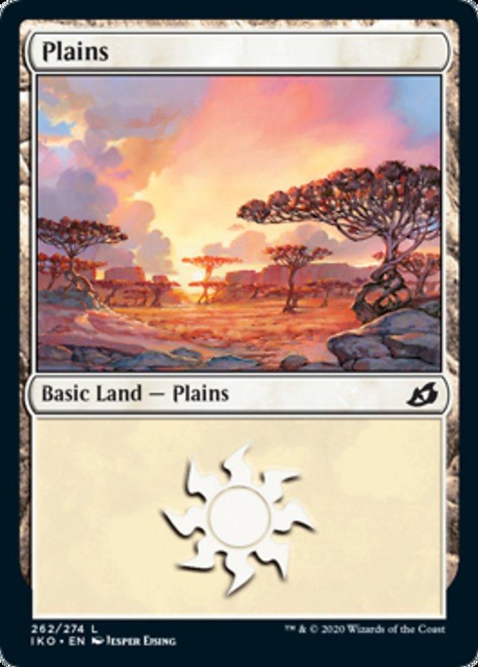 Plains (262) card from Ikoria: Lair of Behemoths