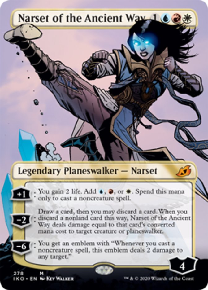 Narset of the Ancient Way (Borderless)