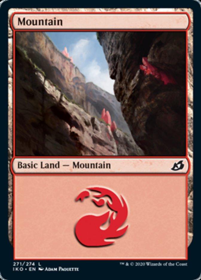 Mountain (271) card from Ikoria: Lair of Behemoths