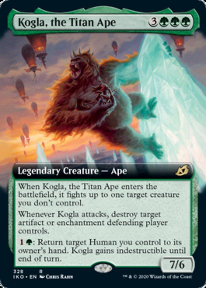 Kogla, the Titan Ape (Extended Art)