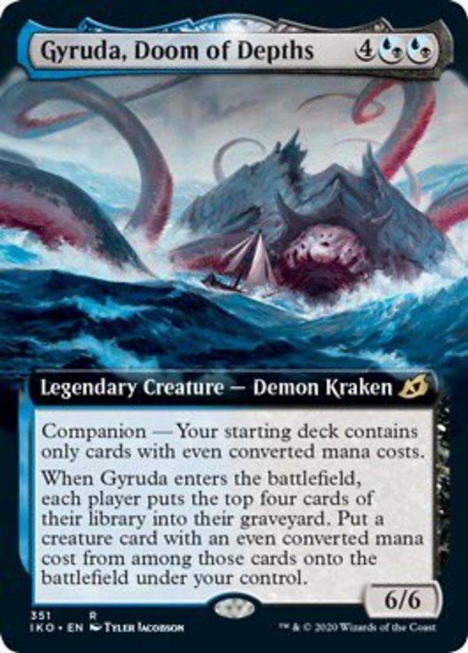 Gyruda, Doom of Depths (Extended Art)
