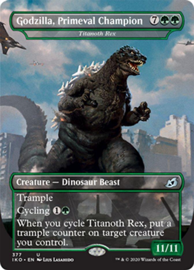 Godzilla, Primeval Champion - Titanoth Rex