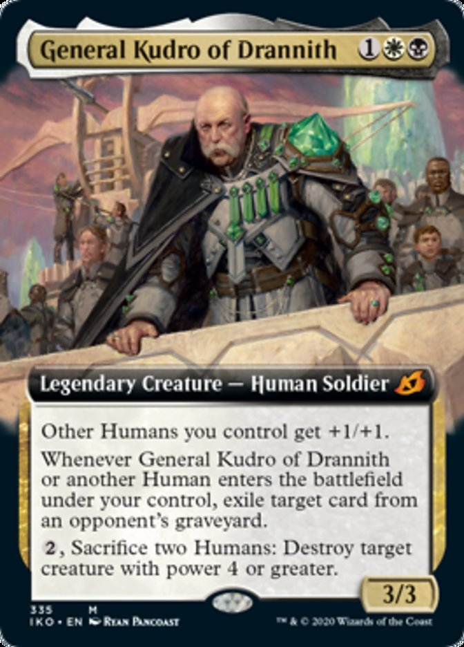 General Kudro of Drannith (Extended Art)
