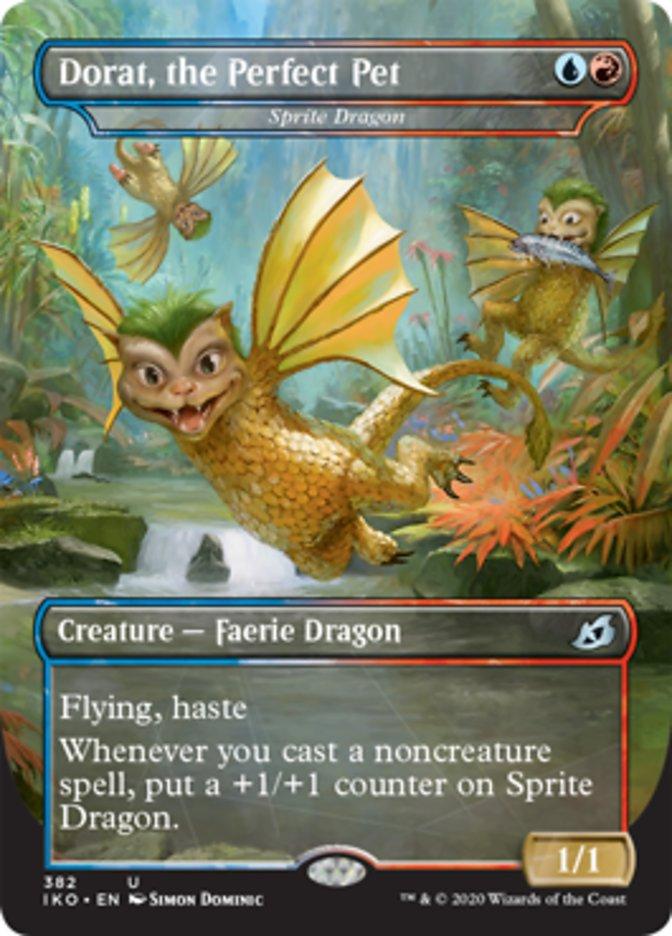 Dorat, the Perfect Pet - Sprite Dragon