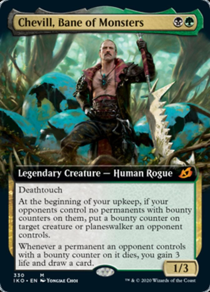 Chevill, Bane of Monsters (Extended Art)