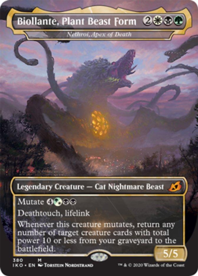 Biollante, Plant Beast Form - Nethroi, Apex of Death
