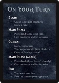 Rules Card (Spellslinger - Boros)