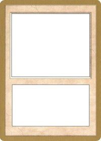 2002 World Championship Blank Card