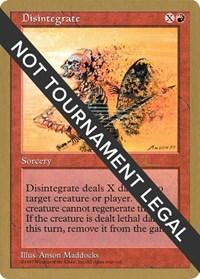 Disintegrate - 1997 Paul McCabe (5ED)