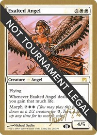 Exalted Angel - 2003 Daniel Zink (ONS) (SB)