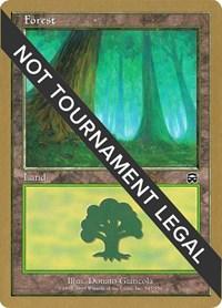 Forest (347) - 2001 Jan Tomcani (MMQ) card from World Championship Decks