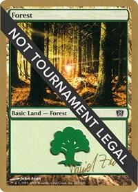 Forest (347) - 2003 Daniel Zink (8ED) card from World Championship Decks