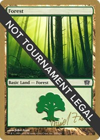 Forest (348) - 2003 Daniel Zink (8ED) card from World Championship Decks