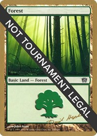 Forest (348) - 2003 Dave Humpherys (8ED) card from World Championship Decks