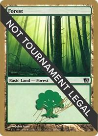 Forest (348) - 2004 Julien Nuijten (8ED) card from World Championship Decks