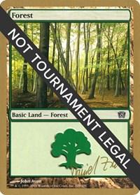 Forest (349) - 2003 Daniel Zink (8ED) card from World Championship Decks