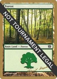 Forest (349) - 2003 Dave Humpherys (8ED) card from World Championship Decks