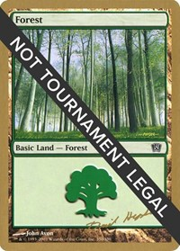 Forest (350) - 2003 Dave Humpherys (8ED) card from World Championship Decks