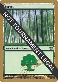 Forest (350) - 2004 Julien Nuijten (8ED) card from World Championship Decks