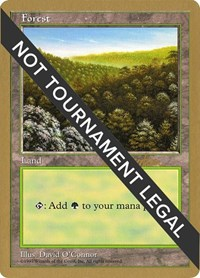Forest (417) - 1997 Svend Geertsen (5ED) card from World Championship Decks