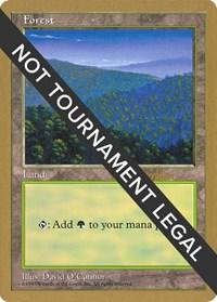 Forest (418) - 1997 Svend Geertsen (5ED) card from World Championship Decks