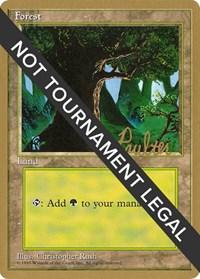 Forest (C) - 1996 Preston Poulter (4ED) card from World Championship Decks