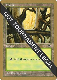 Forest (Ledge) - 1998 Brian Selden (TMP) card from World Championship Decks