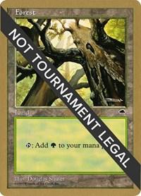 Forest (Skyward) - 1999 Matt Linde (TMP) card from World Championship Decks