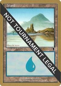 Island (338) - 2002 Raphael Levy (ODY) card from World Championship Decks