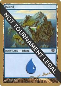 Island (338) - 2003 Dave Humpherys (8ED) card from World Championship Decks