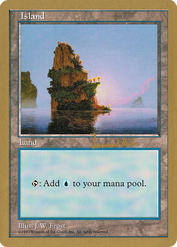 Island (426) - 1997 Janosch Kuhn (5ED) card from World Championship Decks