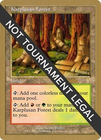 Karplusan Forest - 2002 Brian Kibler (7ED)