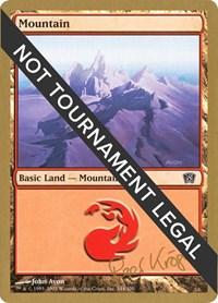 Mountain (344) - 2003 Wolfgang Eder (8ED) card from World Championship Decks