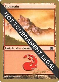 Mountain (346) - 2003 Wolfgang Eder (8ED) card from World Championship Decks