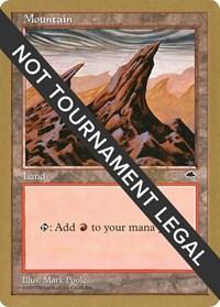 Mountain (Right) - 1998 Ben Rubin (TMP) card from World Championship Decks