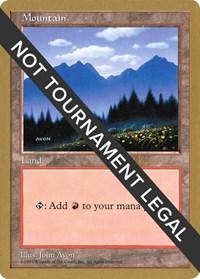 Mountain (433) - 1997 Janosch Kuhn (5ED) card from World Championship Decks