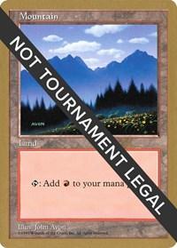 Mountain (433) - 1997 Paul McCabe (5ED) card from World Championship Decks